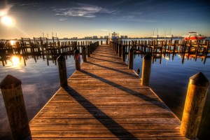 pier-harbor-walkway-sunset-55839